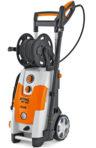 STIHL RE 143 PLUS Nettoyeur haute pression à eau froide de 140 bar très puissant et enrouleur de flexible
