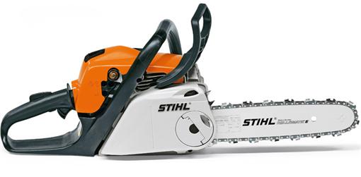 STIHL MS 181 C BE 35 cm- Tronçonneuse à essence moderne et légère 1,5 kW Ergostart et Tendeur