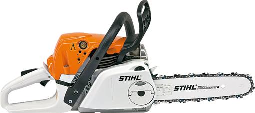 STIHL MS 251 C BE Tronçonneuse à essence  puissante et compacte 2,2kW 40 cm Ergostart et Tendeur