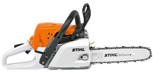 STIHL MS 251 35 cm Tronçonneuse à essence 2,2kW puissante et compacte